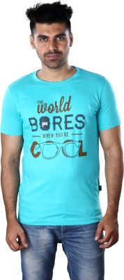 Mrtees Solid Men's Round Neck Green T-Shirt