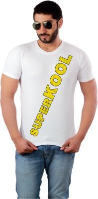 Caricature Graphic Print Men's Round Neck T-Shirt