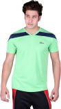 Origin Sport Solid Men's V-neck Green T-...