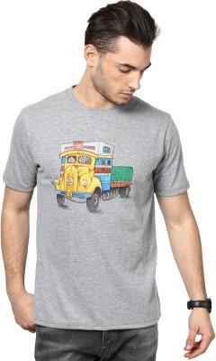 Maati Graphic Print Men's Round Neck T-Shirt