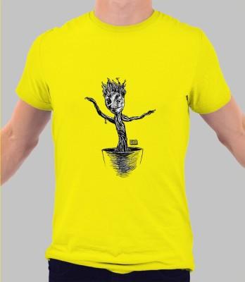 Merchbay Paisley Men's Round Neck T-Shirt