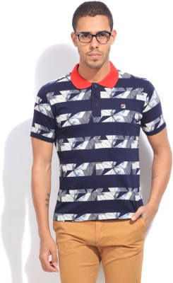 Fila Printed Men's Polo T-Shirt