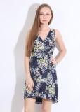 Vero Moda Floral Print Women's V-neck Mu...