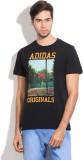 Adidas Originals Printed Men's Round Nec...