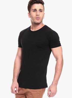Fabnic Solid Men's Round Neck T-Shirt