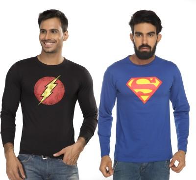 Alan Jones Graphic Print Men's Round Neck Black, Blue T-Shirt