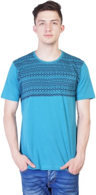 Seaboard Printed Men's Round Neck T-Shirt