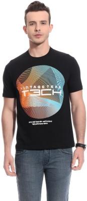 TAB91 Printed Men's Round Neck T-Shirt