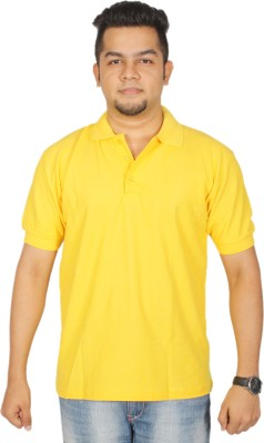 Leo Clothing Solid Men,s Polo Neck Reversible T-Shirt