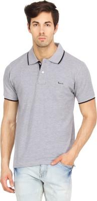 Bemore Solid Men's Polo Neck T-Shirt