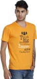 Blackcatz Printed Men's V-neck T-Shirt