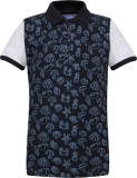 Tickles By Inmark Printed Men's Polo Nec...
