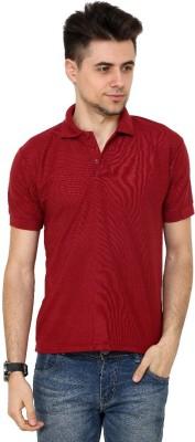 Grand Bear Solid Men's Polo Neck T-Shirt