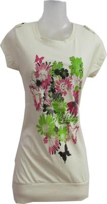 revinfashions Printed Women's Round Neck T-Shirt