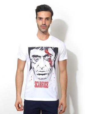 Smugglerz Graphic Print Men's Round Neck T-Shirt