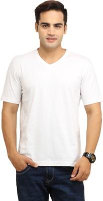 WallWest Solid Men's V-neck T-Shirt