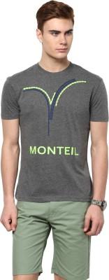 Monteil & Munero Printed Men's Round Neck T-Shirt
