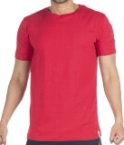 Vip Solid Men's Round Neck Red T-Shirt