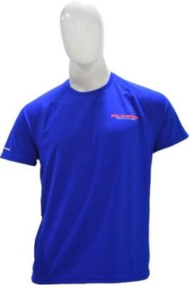 Ralph Lauren Solid Men's Round Neck Blue T-Shirt