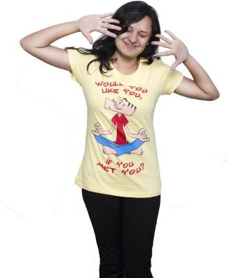 Tee Hive Graphic Print Women's Round Neck T-Shirt