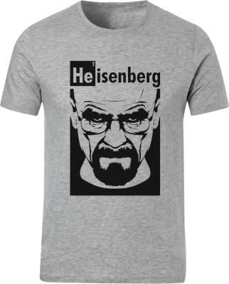 Bastard Tendencies Printed Men's Round Neck Grey T-Shirt