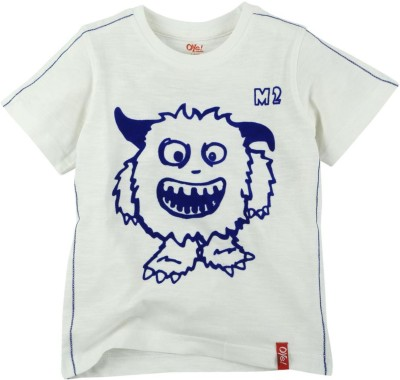 Oye Printed Baby Boy's Round Neck T-Shirt