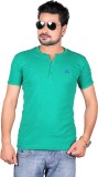 Cute Collection Solid Men's Round Neck G...