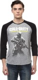 Call of Duty Printed Men's Round Neck Gr...