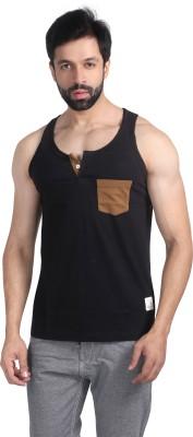 Nostrum Jeans Solid Men's Round Neck T-Shirt