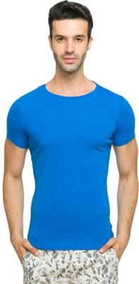 Dtenor Solid Men's Round Neck T-Shirt