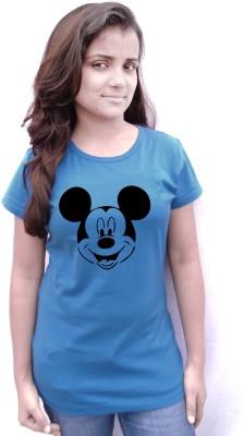 Komnil Printed Women,s Round Neck T-Shirt