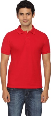 Scottish Solid Men's Polo Red T-Shirt