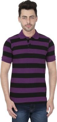 KAAR Striped Men's Polo Multicolor T-Shirt