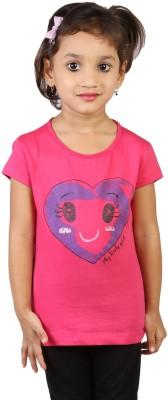 My Little Joy Printed Girl,s Round Neck T-Shirt
