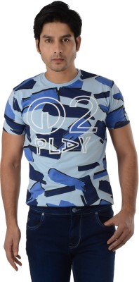 Integriti Printed Men's Round Neck T-Shirt