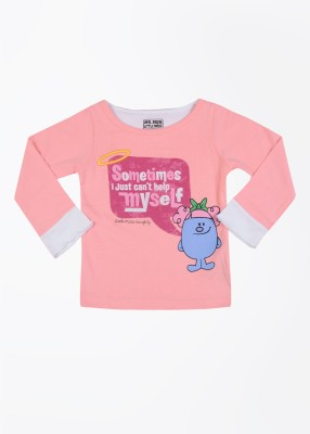 Mr. Men Little Miss Printed Round Neck T-Shirt