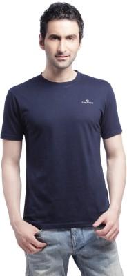 Cross Creek Solid Men's Round Neck T-Shirt