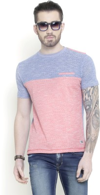 Metal Gear Solid Men's Round Neck Pink T-Shirt