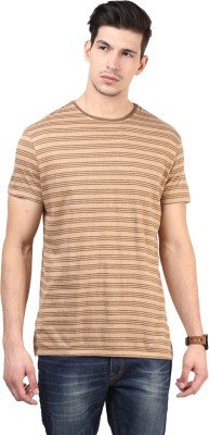 T-shirt Company Striped Men's Round Neck T-Shirt