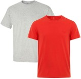 CampusMall Solid Men's Round Neck T-Shir...