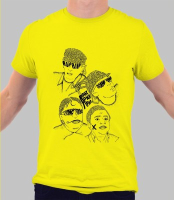Merchbay Woven Men's Round Neck T-Shirt