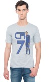 Swag Theory Printed Men's Round Neck Gre...