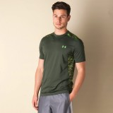 Under Armour Solid Men's Polo Neck Green...