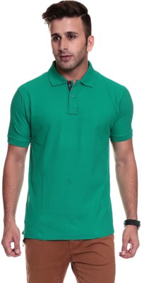 TSG Breeze Solid Men's Polo Green T-Shirt