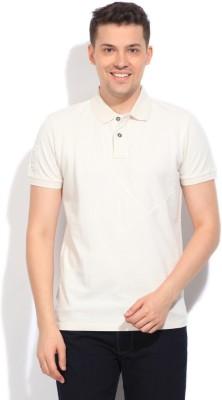 Gant Solid Men's White T-Shirt