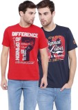 Difference of Opinion Printed Men's Roun...