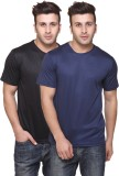 Funky Guys Solid Men's Round Neck Multic...
