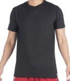 Vip Solid Men's Round Neck Black T-Shirt