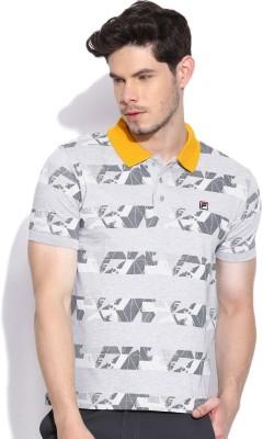 Fila Printed Men's Polo Neck T-Shirt