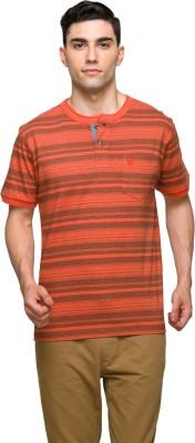 ALX New York Striped Men's Round Neck T-Shirt